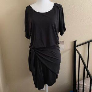 NWT Tobi black dress with tie detail